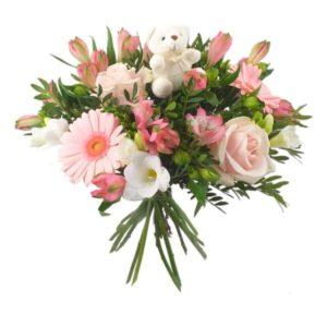 Bouquet de fleurs - Une Naissance