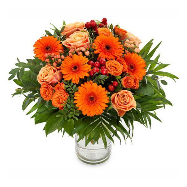 Bouquet de fleurs - Été indien