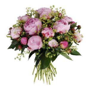 Bouquet de pivoines - Livraison de fleurs