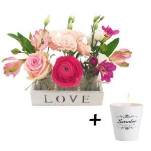 Plein de bonheur - Livraison de fleurs