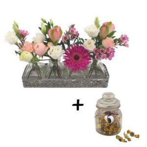 Le coffret Mini vases gourmand