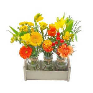 Mini vases fleurs