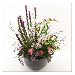 L'arrangement Liatris des bois - Livraison de fleurs