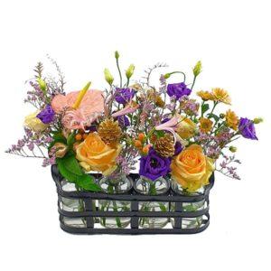Mini vase champêtre