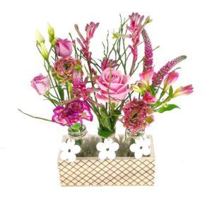 Mini vases Pink Ladies
