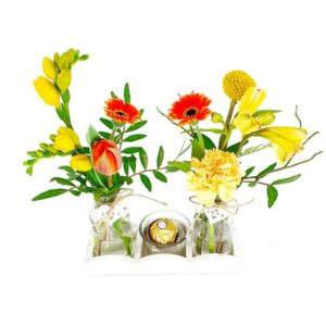 Mini vases douceur