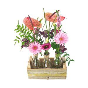 Mini vases bambou