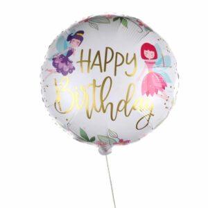 Flying Happy Birthday balloon